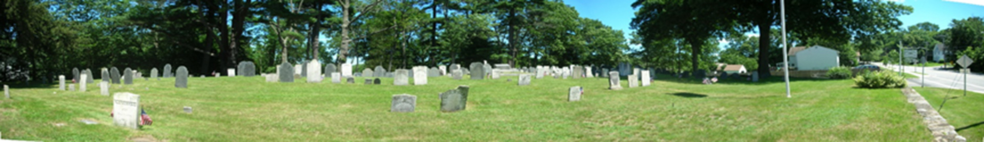 Thomas Tenney Monument Dedication – Bradford Burial Ground, Bradford, MA – 2009